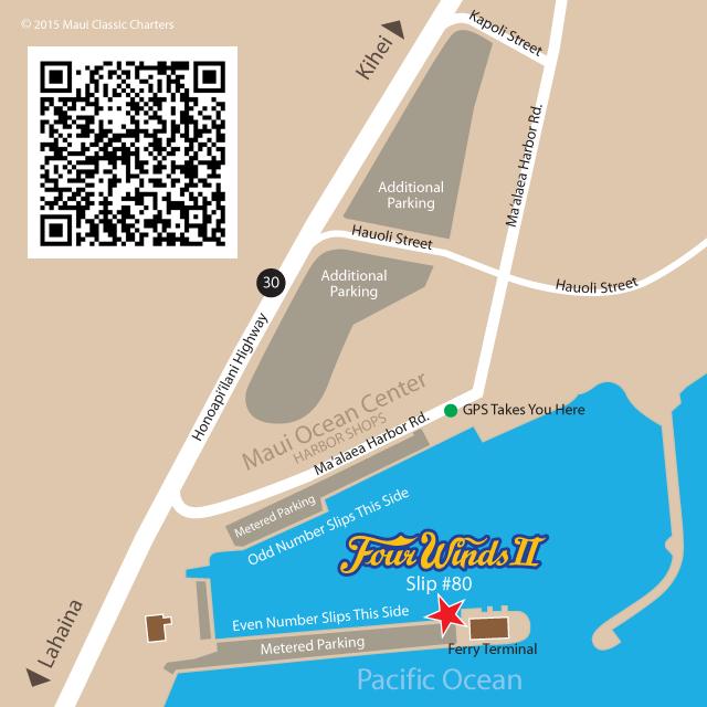 Maalaea Harbor Map 2015