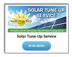 Solar Tune Up Button