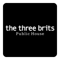 The Three Brits Public House logo