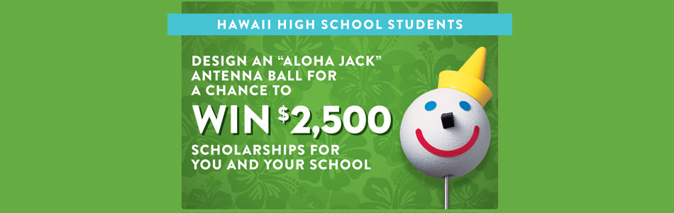 Design Aloha Jack Antenna Ball Contest